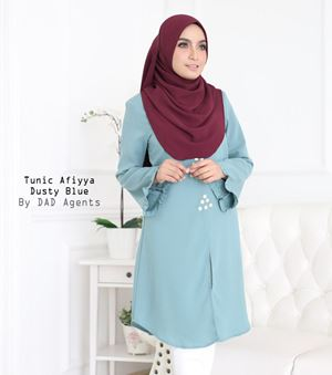Tunic Afiyya Dusty Blue