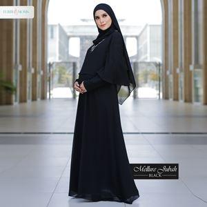 Mellur Jubah - Black