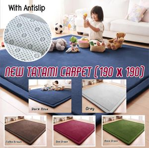 ANTI-SLIP Tatami Carpet (190x190cm)