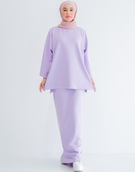 ELLA SKIRT IN LILAC