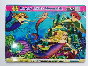 ET51-FUN WITH PUZZLES-HAPPY LITTLE MERMAIDS