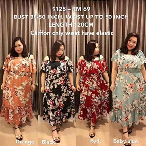 9125 *Bust 38 to 50inch/ 97-128cm