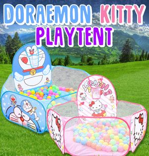 Doraemon  Kitty Playtent Without Playballs