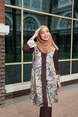 Baju Kebarung Jameela (KJ103) - Koleksi Raya 2019