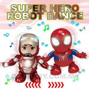 SUPER HERO ROBOT DANCE