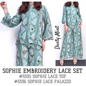 SOPHIE EMBROIDERY LACE SET