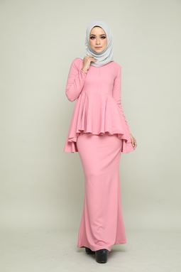 BELLA KURUNG - DUSTY PINK