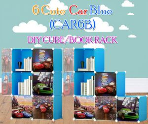 CARS BLUE 6C DIY WARDROBE (CAR6B)