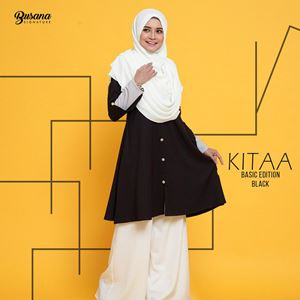 BLOUSE KITAA - BLACK
