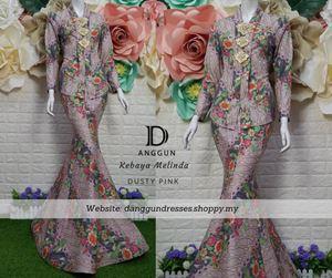 Kebaya Batik Melinda Dusty Pink