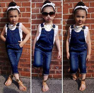 Jeans Overalls + T-shirt