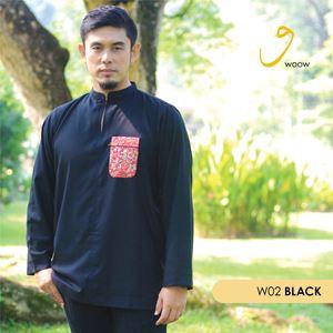 WOOW Shirt - W02 Black