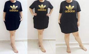 D53 Adidas Dress *Bust 42 to 54 inch /106-137cm