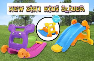 New 2in1 Kids Slider w/o Net