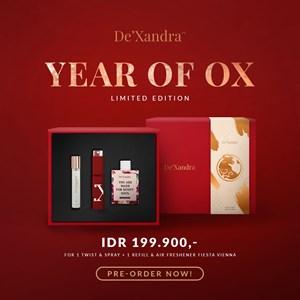 De'Xandra Year Of OX Limited Edition perfume Set