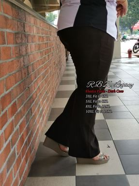 ELASTIX PANTS  11XL MUAT HINGGA15XL(306)