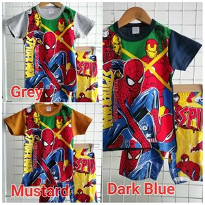Size 2 Only. Short Set Boy / Short Pyjamas: The Amazing Spiderman