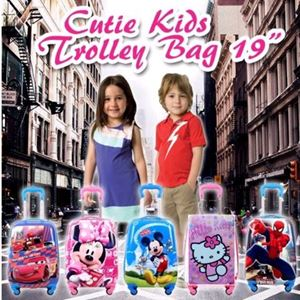 CUTIE KIDS TROLLEY BAG 19