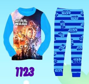 1123 Tobot & StarWars 3D Pyjamas (2T)