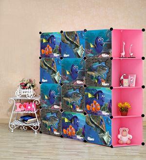 Nemo Pink 12C DIY Cube w Corner Rack (NE12CP)