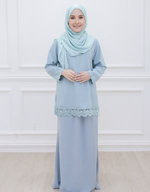 DIAN MODERN KURUNG IN DUSTY MINT