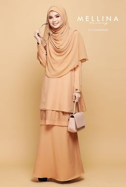 MELLINA STYLISH KURUNG 💕 02 (SHINING NUDE)