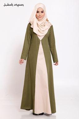 JUBAH HAWA (Army Green)