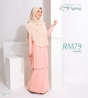 KURUNG AGUNG IRONLESS IN SWEETY