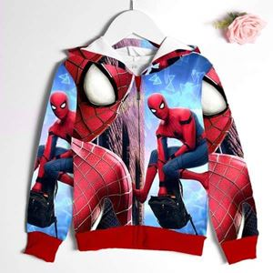@  239-C  SPIDERMAN  JACKET ( SZ 5Y )
