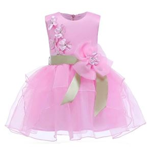 2581 PINK TONG T0NG MI DRESS ( SIZE 90-180 )