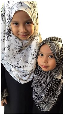 Instant Kids 2 Muka - Bubble Monochrome Printed