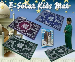 E-Sejadah/Solat Kids Mat