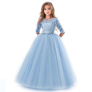 PRINCESS DRESS ( BLUE ) SZ 130-170