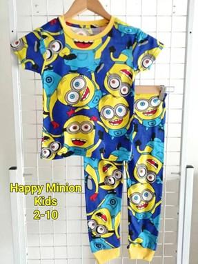 Pyjamas  HAPPY MINION: KIDS size 2 - 10
