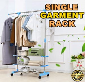 SINGLE GARMENT RACK ETA 30/7/2018