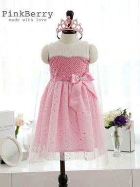 @  G059/14 PINK DRESS - 332125 TS )