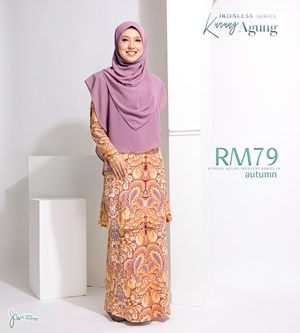 KURUNG AGUNG IRONLESS IN AUTUMN