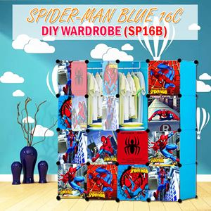 Spider-Man Blue 16C Diy Wardrobe (SP16B)