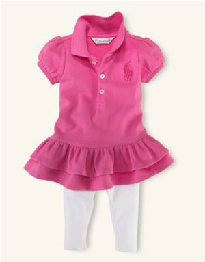 Girl Set - Pink Ralph Lauren