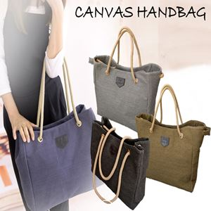 CANVAS HANDBAG N00866