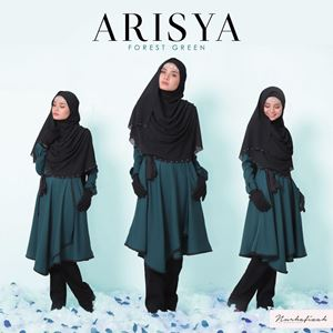 Arisya ( Emerald Green )
