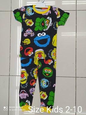 Pyjamas  SESAME STREET BLACK EDITION: KIDS 2-10