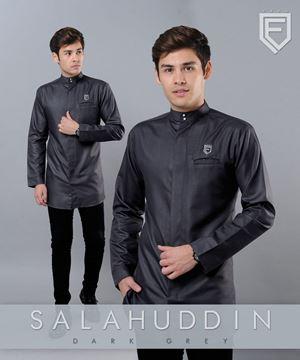 kurta salahudin grey  (sizing baru)