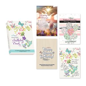Assorted Birthday Cards - Boxed (English)