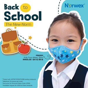 [CLEARANCE] Norwex KIDS Reusable Face Mask