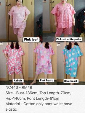 NC443 Ready Stock *Bust 100-136cm