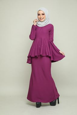 BELLA KURUNG - PURPLE