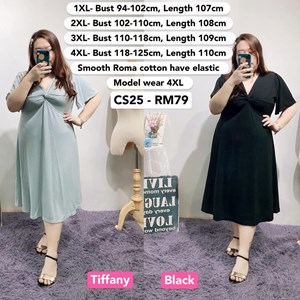 CS25 *Bust 37 to 49 inch/ 94-125cm