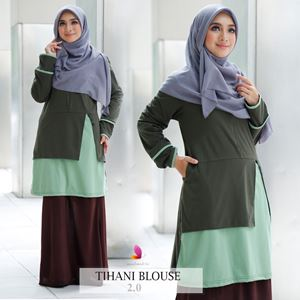 Tihani Blouse (Green)