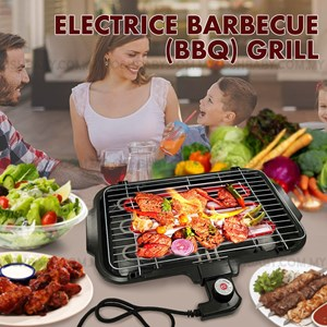 ELECTRIC BARBECUE (BBQ) GRILL